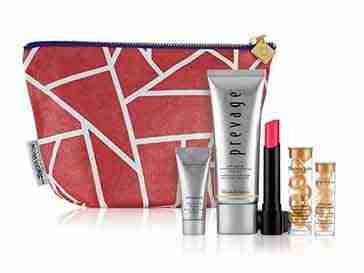 Elizabeth Arden Sparrow Society- red bag