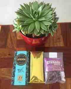 chocolate and granola